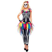 Picture of Day of the Dead Sugar Skeleton Adult Womens Costume