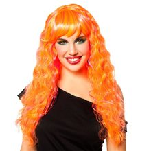 Picture of Orange and Pink Candy Glam Wig