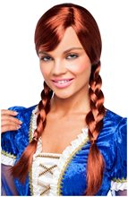 Picture of Red Double Braided Wig
