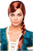Picture of Red Braided Princess Wig