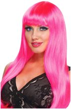 Picture of Hot Pink Fantasy Diva Wig