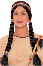 Picture of Black Native American Squaw Wig