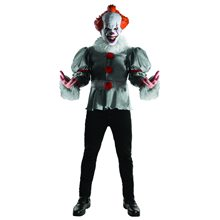 Picture of IT the Movie Pennywise Deluxe Adult Mens Costume