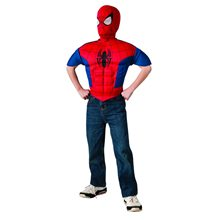 Picture of Ultimate Spider-Man Muscle Child Shirt & Mask