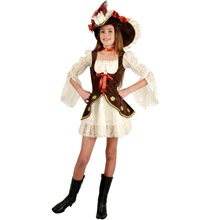 Picture of Lacey Pirate Dress Child Costume