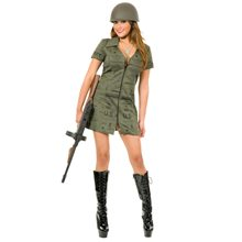 Picture of Sexy G.I. Girl Adult Womens Costume