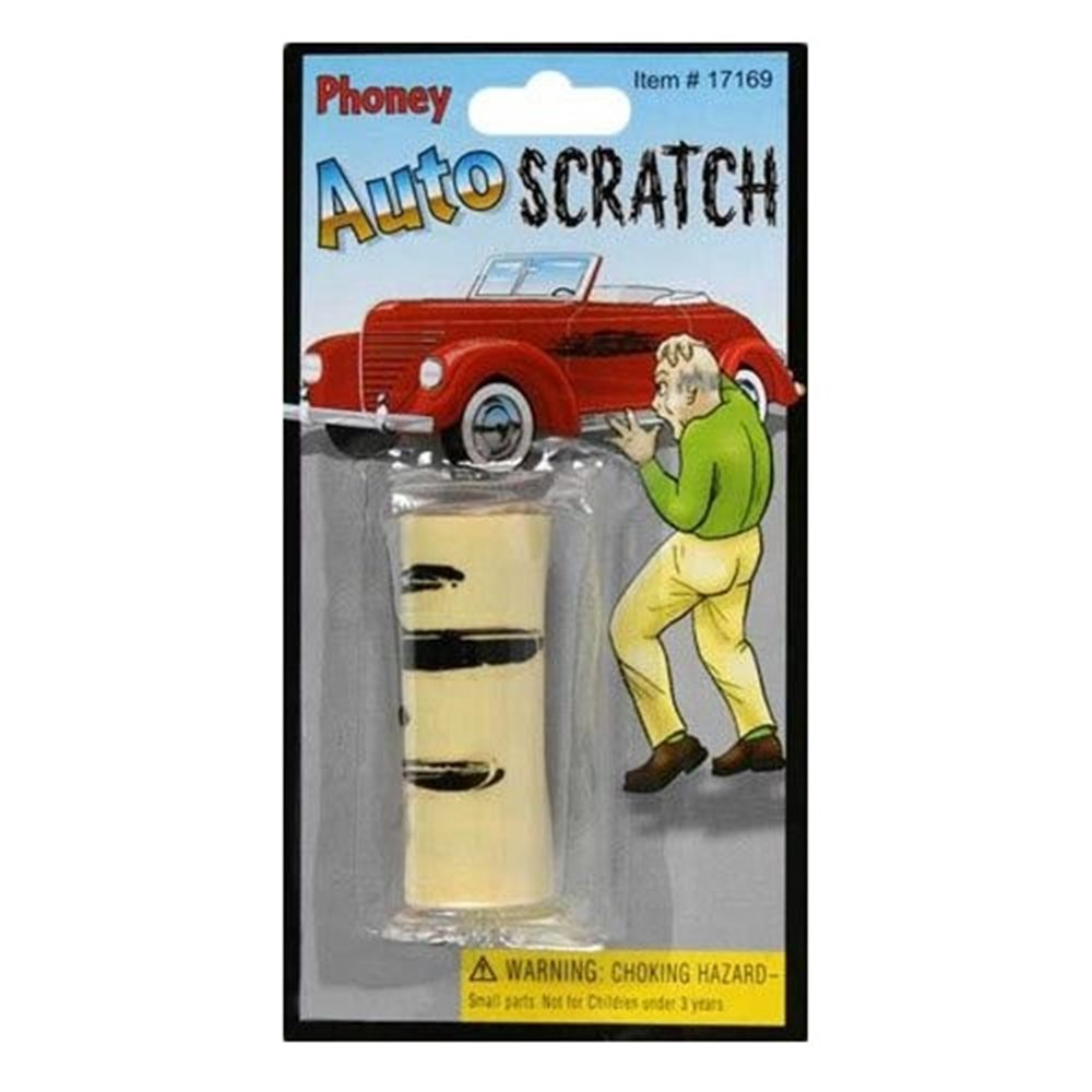 Picture of Phoney Auto Scratch Gag