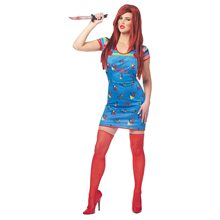 Picture of Sexy Chucky Dress Adult Womens Costume