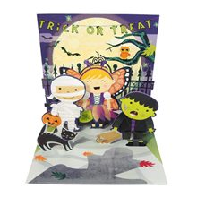 Picture of Scary Shadow Halloween Pop-Up Greeting Card
