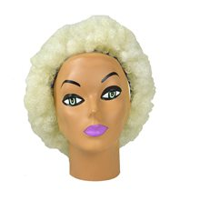 Picture of Blonde Small Afro Wig