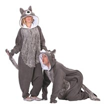 Picture of Willie the Wolf Adult Unisex Funsie