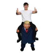 Picture of President Trump Piggyback Adult Unisex Costume