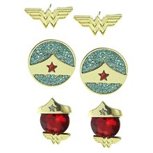 Picture of Wonder Woman Stud Earring Set