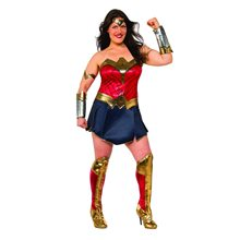 Picture of Batman v Superman Wonder Woman Adult Womens Plus Size Costume