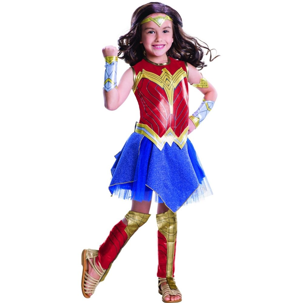 Picture of Justice League Deluxe Wonder Woman Child Costume