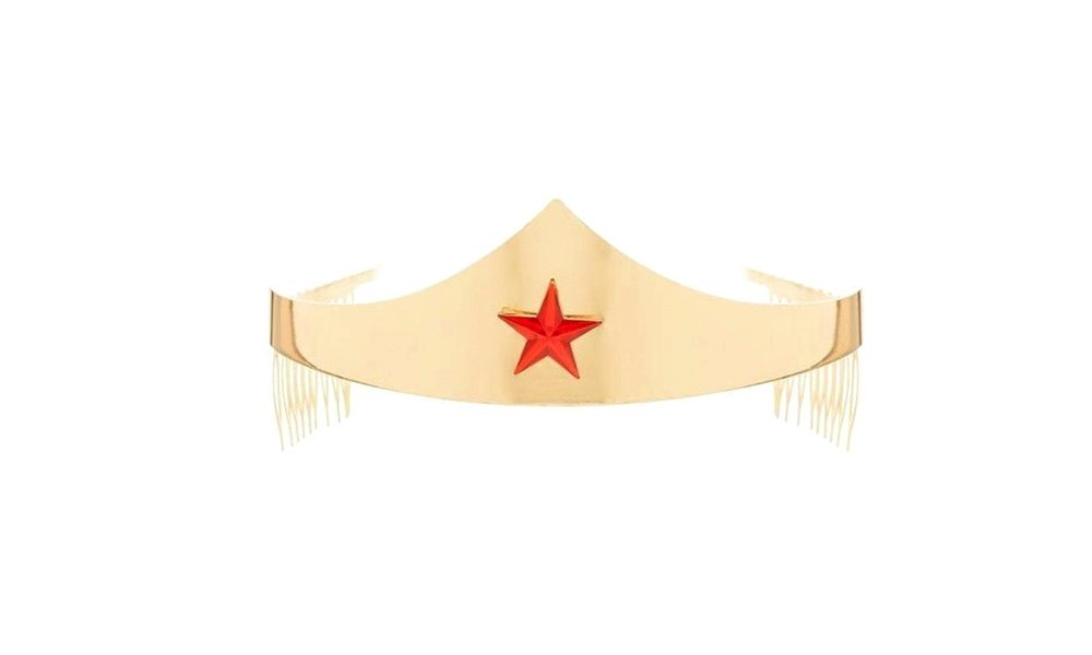 Picture of Wonder Woman Gem Star Gold Crown
