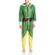 Picture of Buddy the Elf Adult Mens Onesie