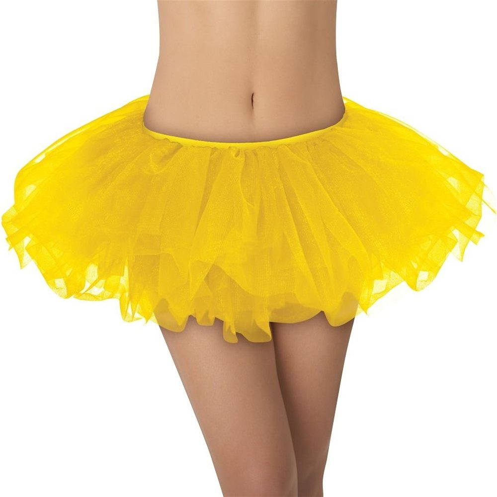 Picture of Yellow Adult Tutu