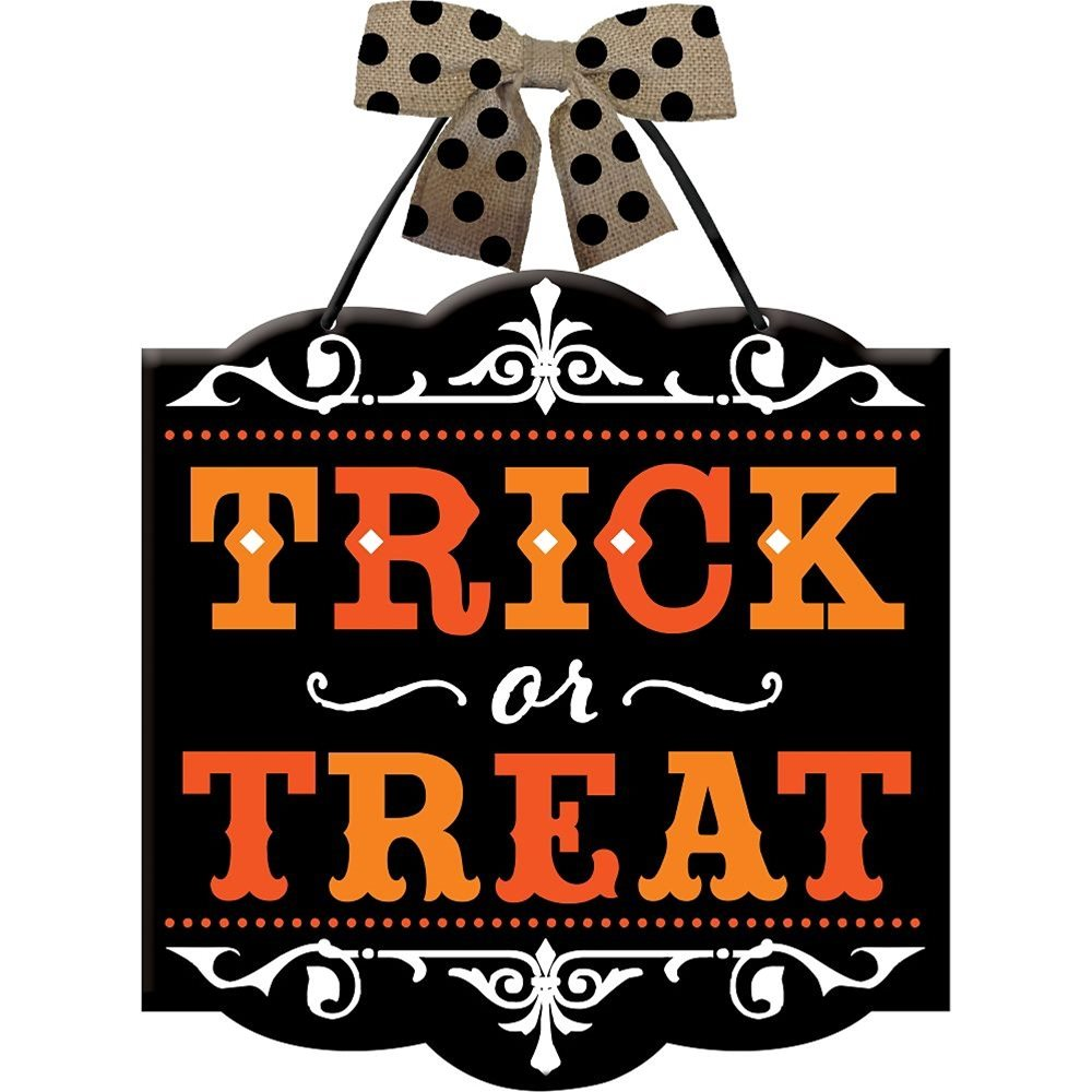 Picture of Trick-or-Treat Sign