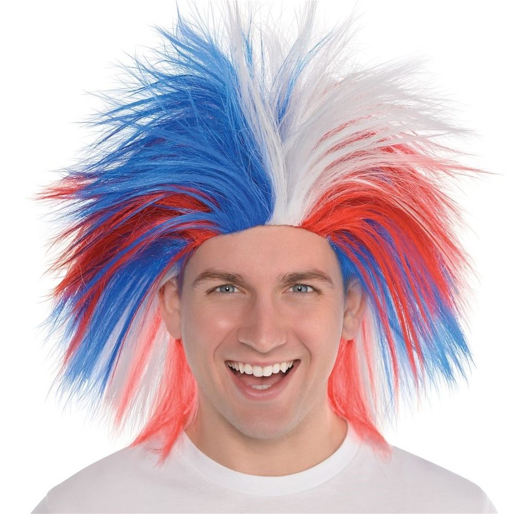 Picture of Patriotic Crazy Wig