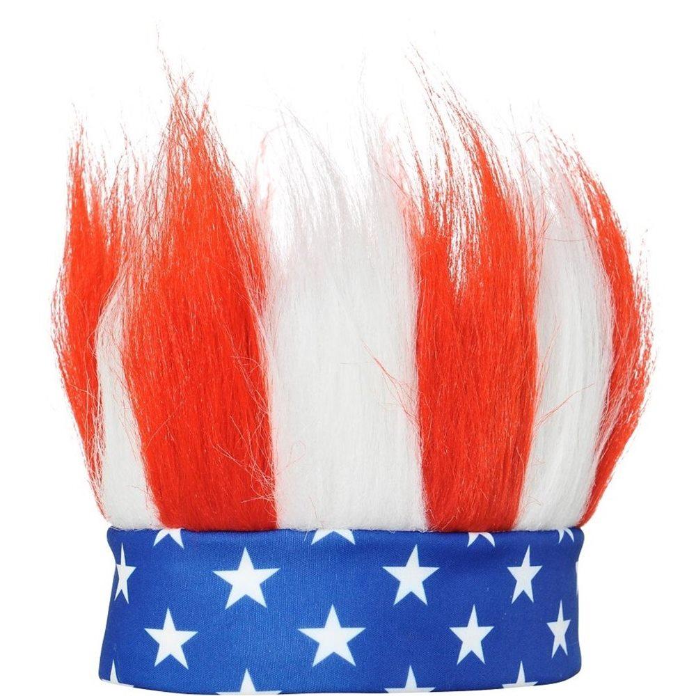 Picture of Patriotic Crazy Hair Headband