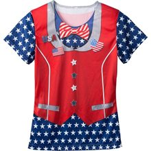 Picture of Patriotic Adult Womens T-Shirt