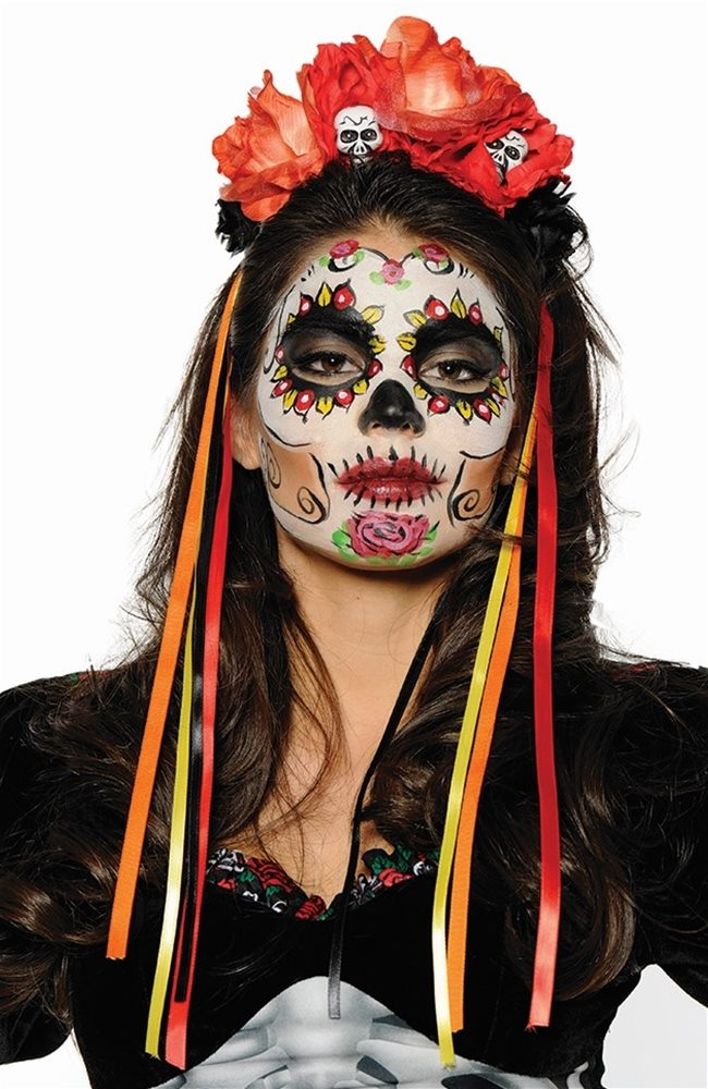 Picture of Day of the Dead Colorful Headband
