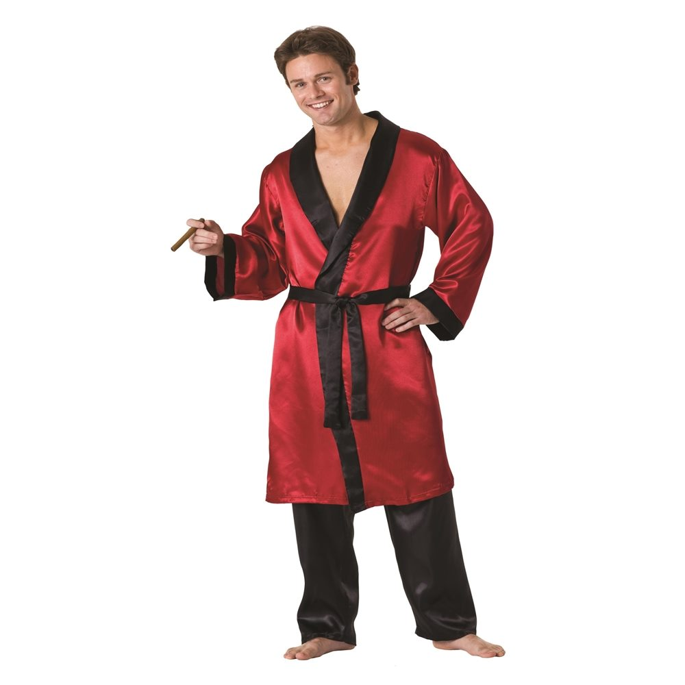 Picture of Play Boy Adult Mens Plus Size Smoking Jacket