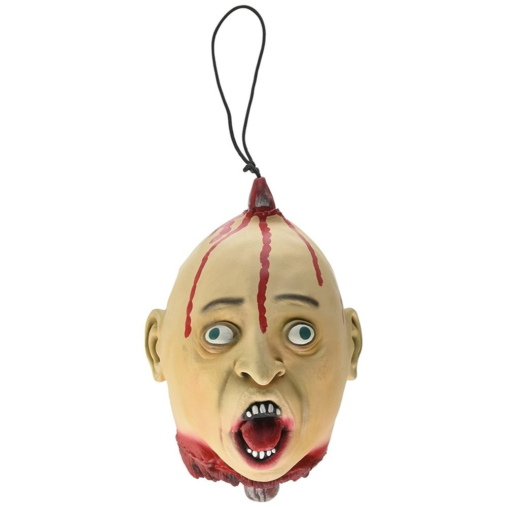 Picture of Impaled Severed Human Head Prop