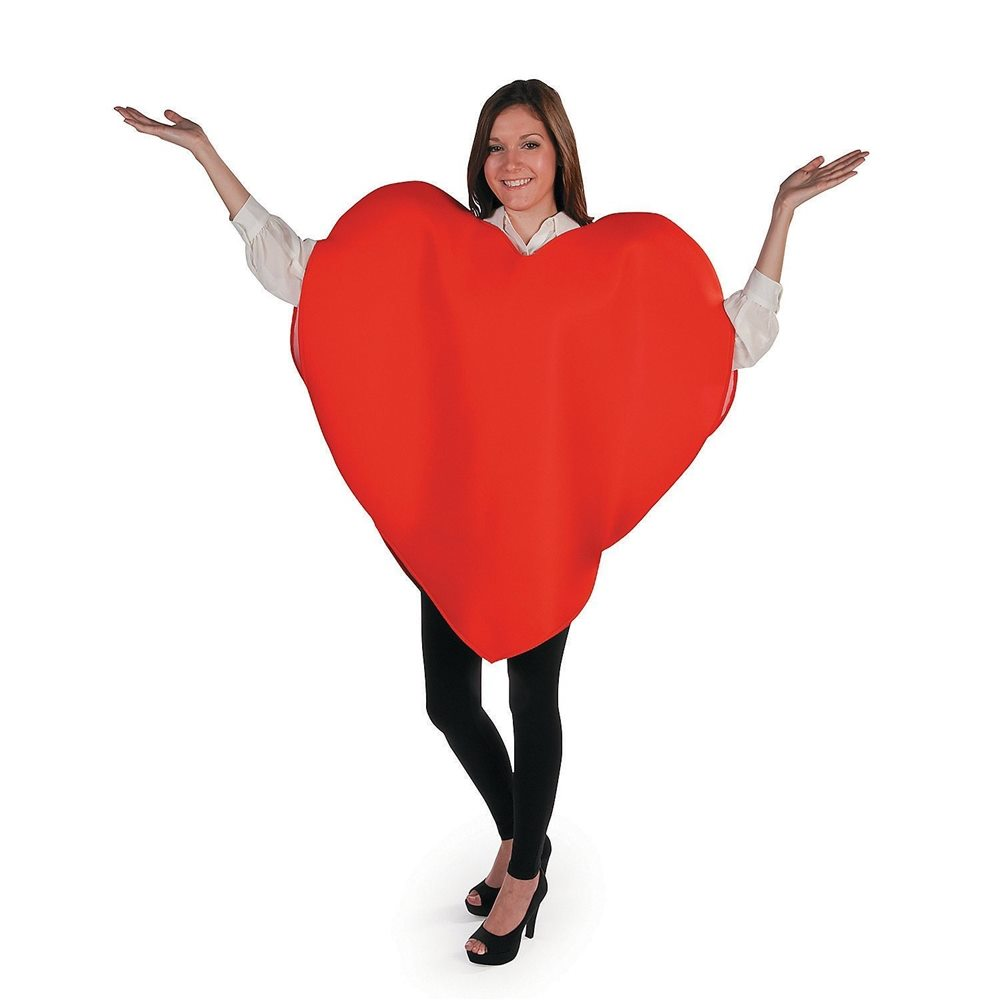 Picture of Heart Adult Unisex Costume