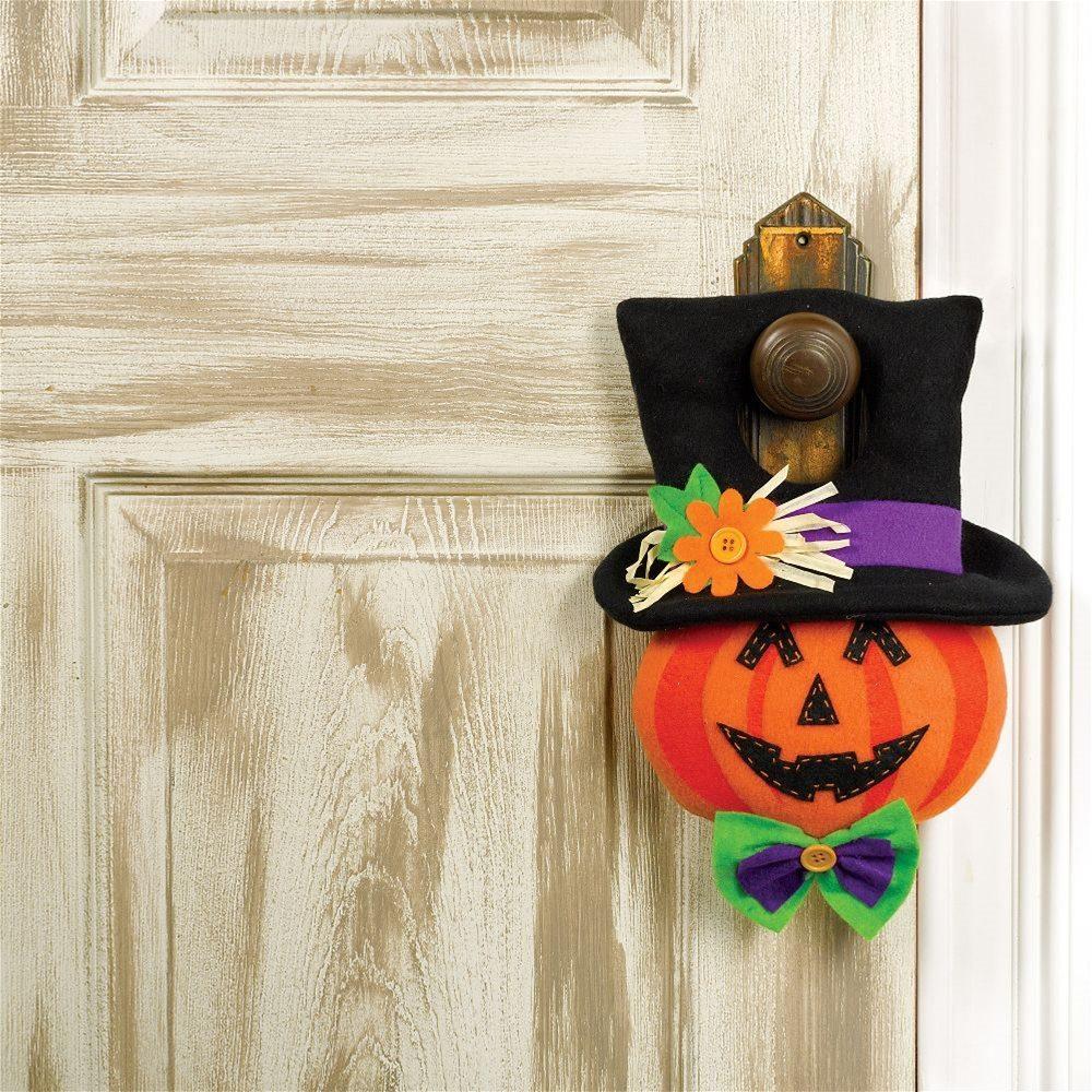 Picture of Jack-O-Lantern Door Hanger