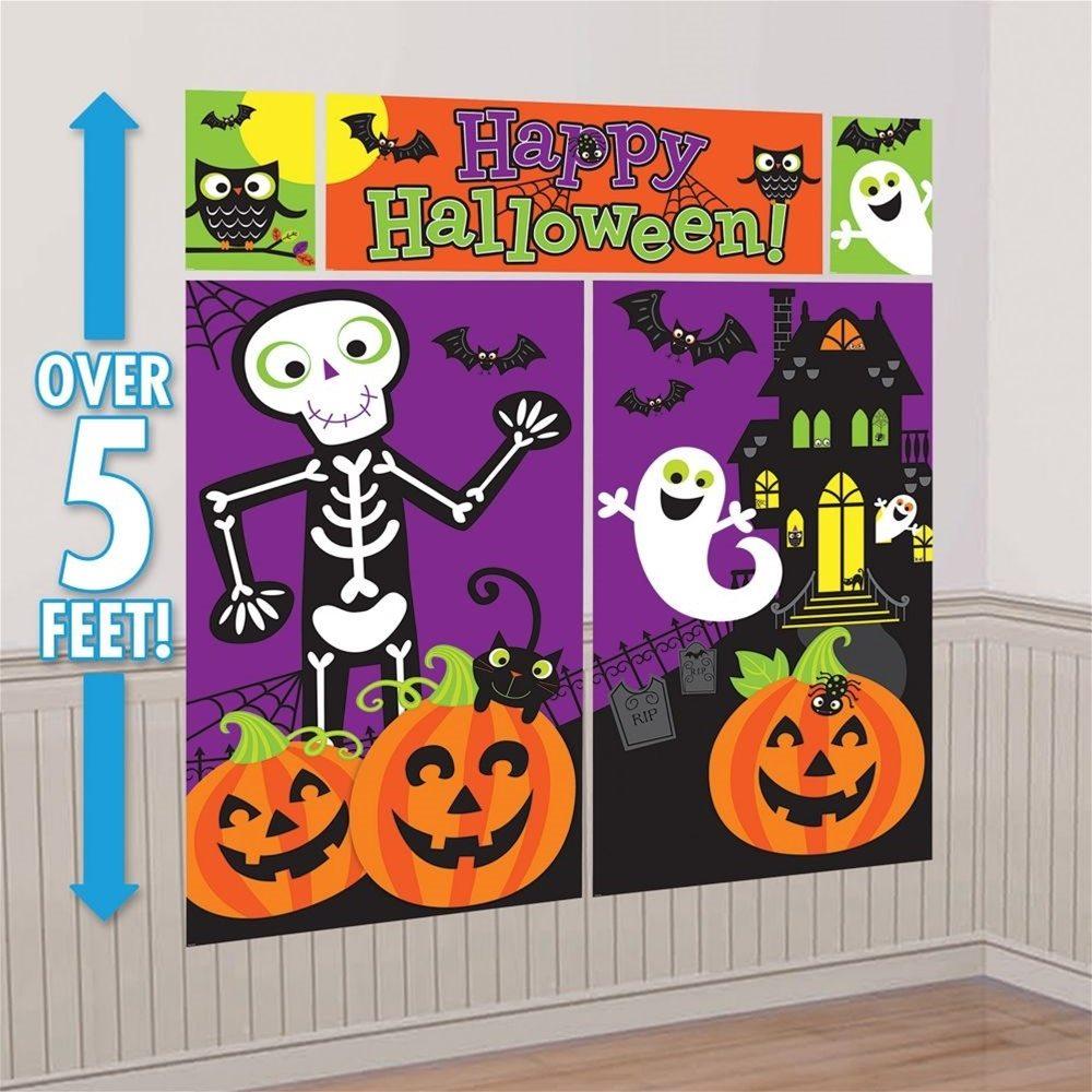 Picture of Family Friendly Halloween Scene Setter Decoration Kit