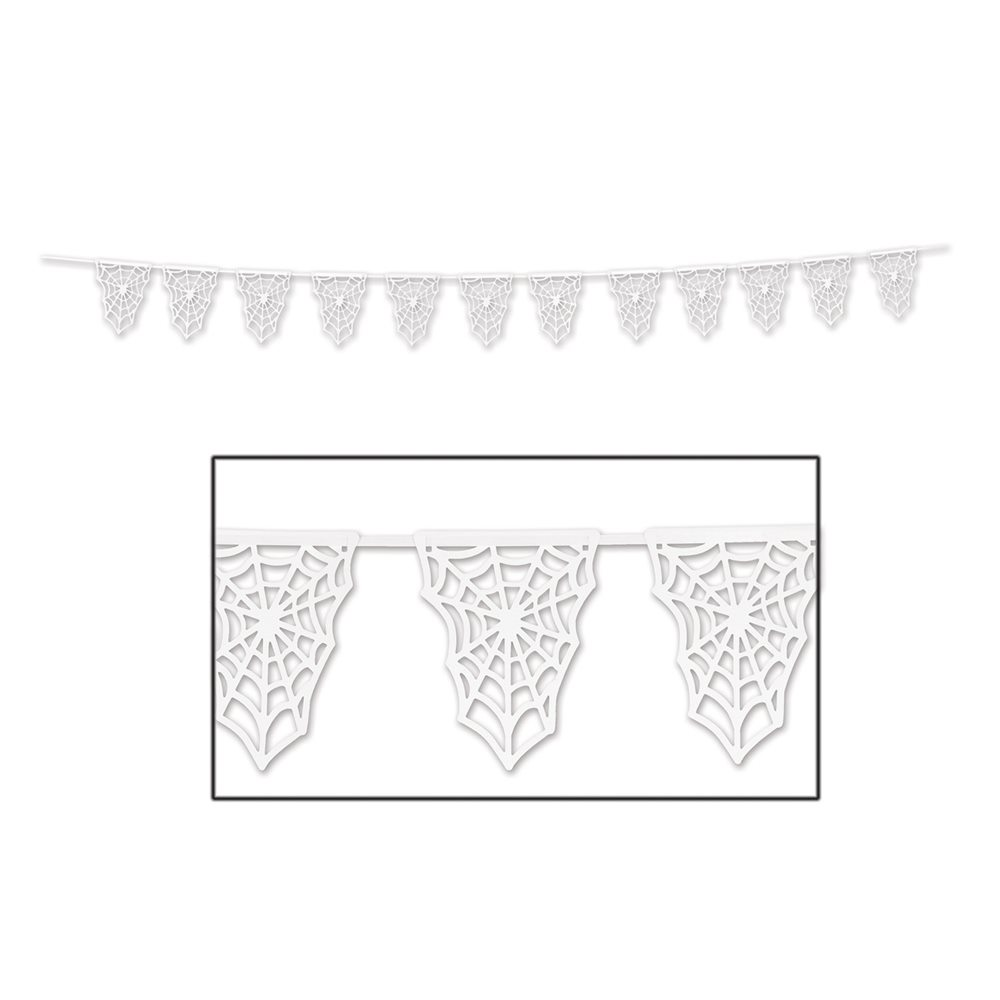 Picture of Spider Web Pennant Banner 15ft