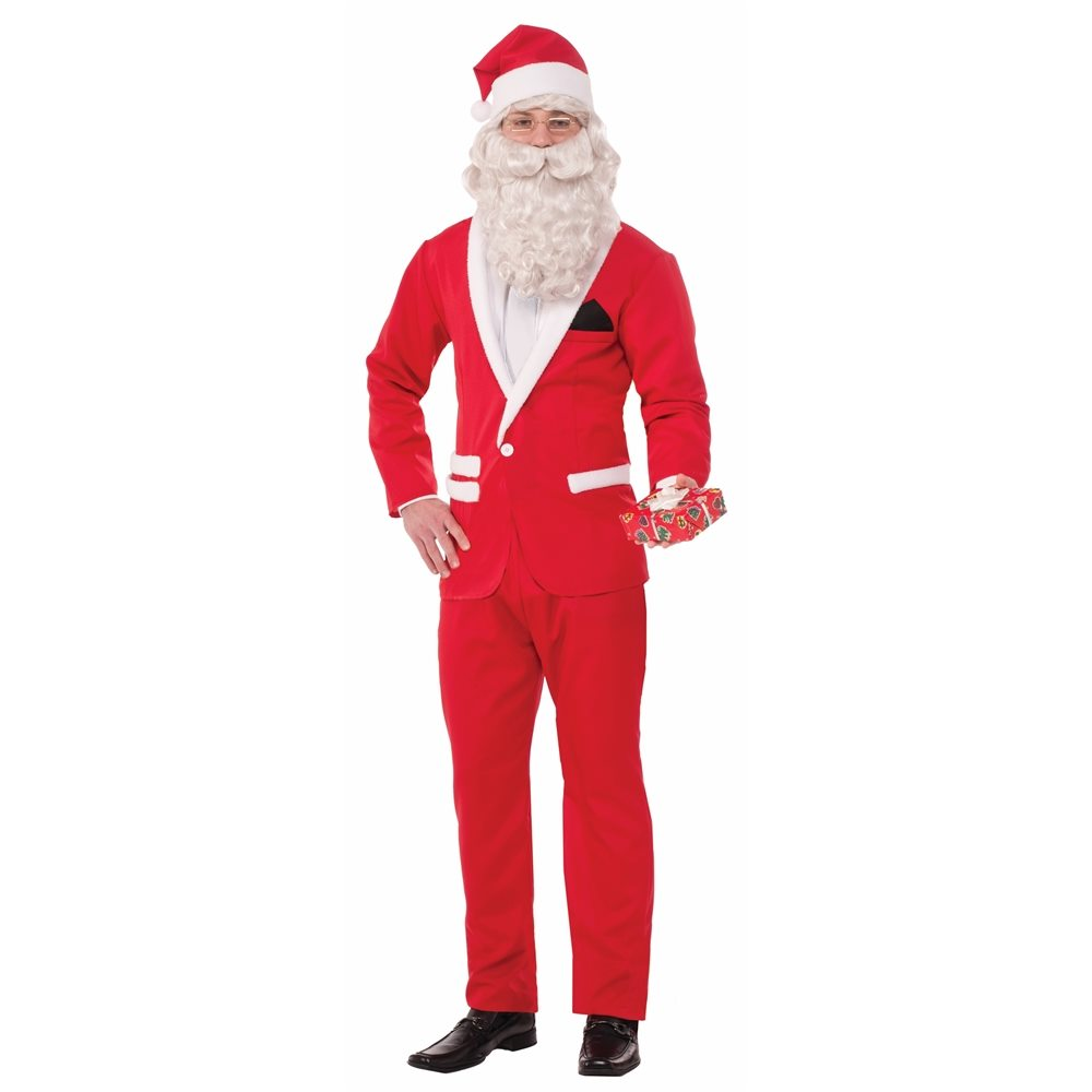 Picture of Simply Suited Santa Adult Mens Costume