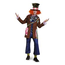 Picture of Mad Hatter Prestige Adult Mens Plus Size Costume
