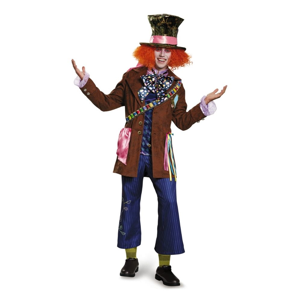 Picture of Mad Hatter Prestige Adult Mens Costume