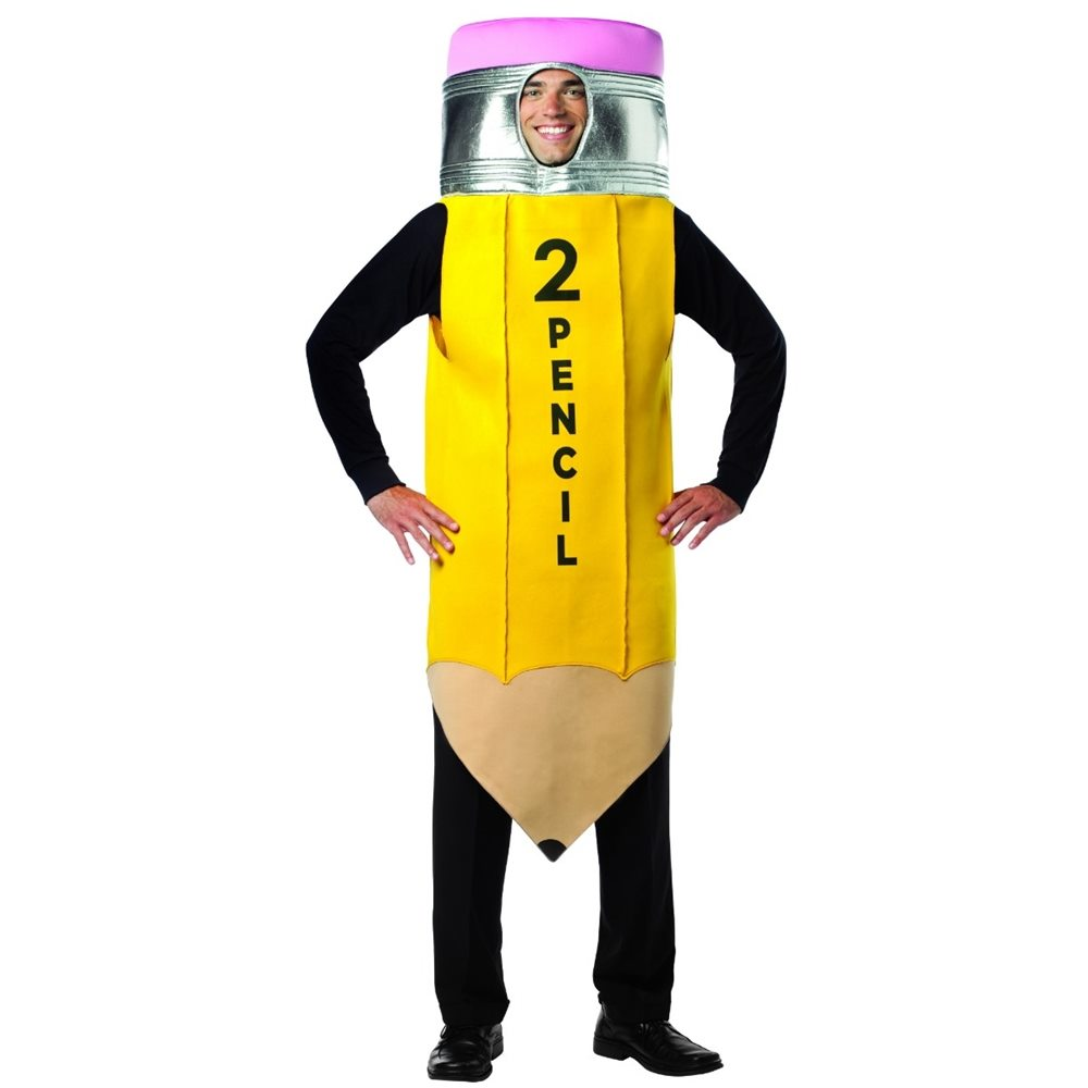 Picture of No. 2 Pencil Adult Unisex Costume