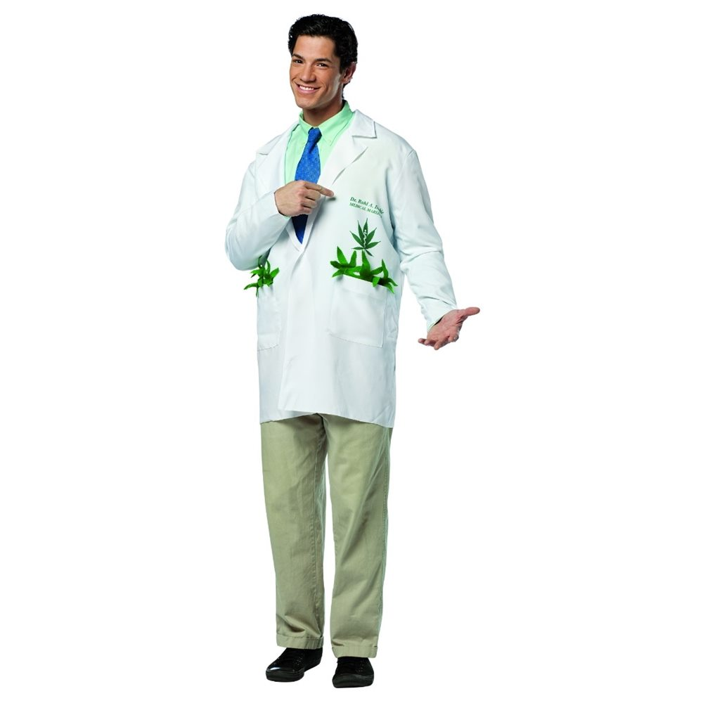 Picture of Dr. Rohl Roll A Doobie Adult Mens Costume