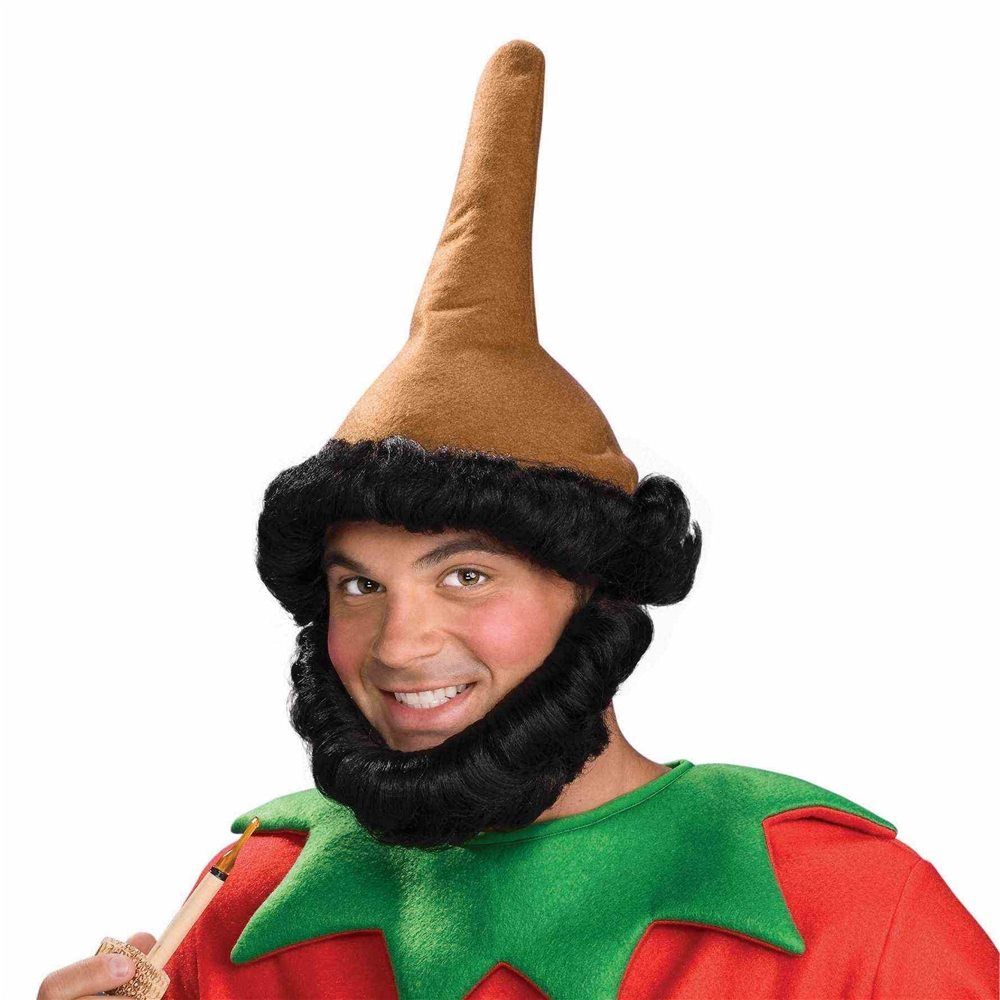 Picture of Brown Elf Hat with Beard