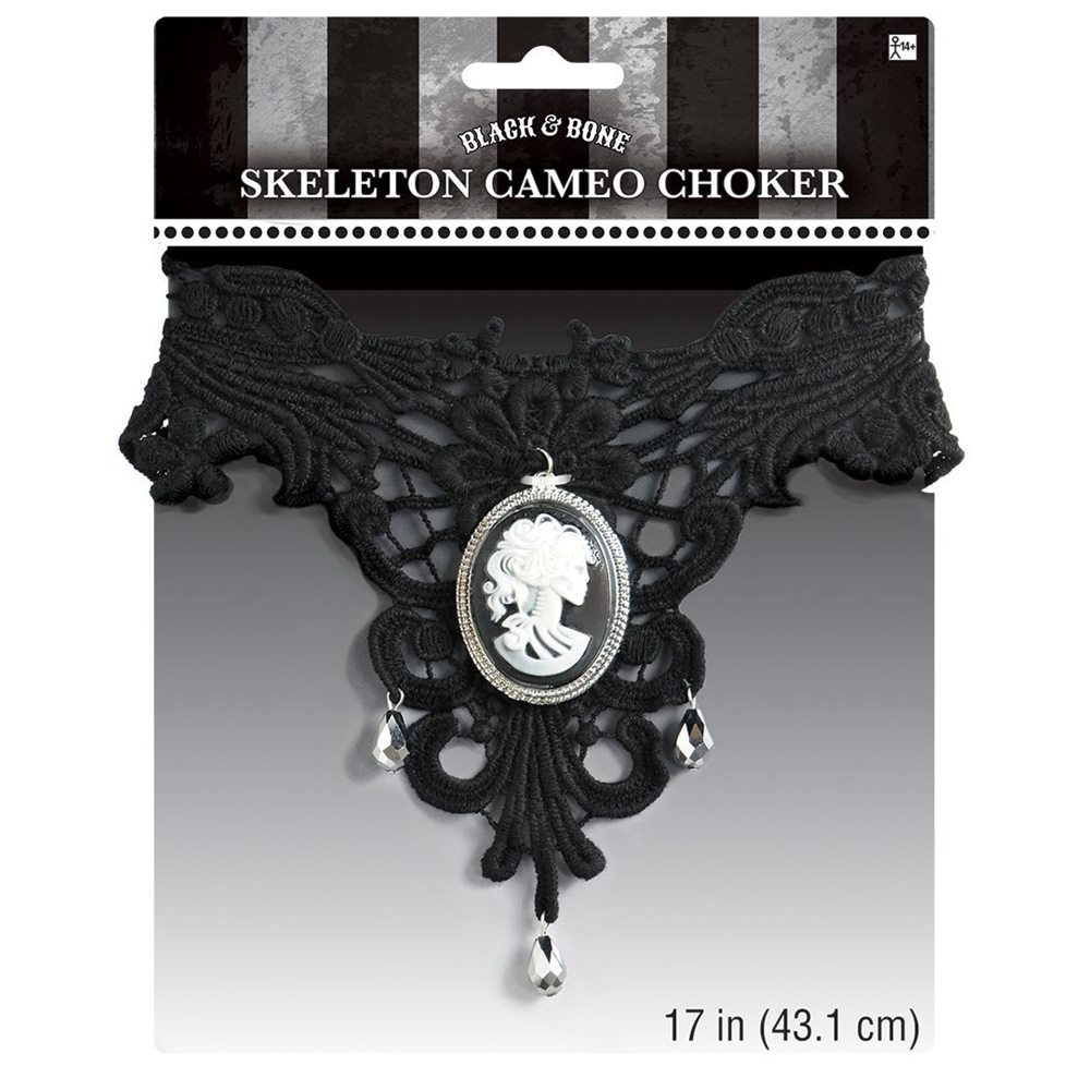 Picture of Skeleton Cameo Choker
