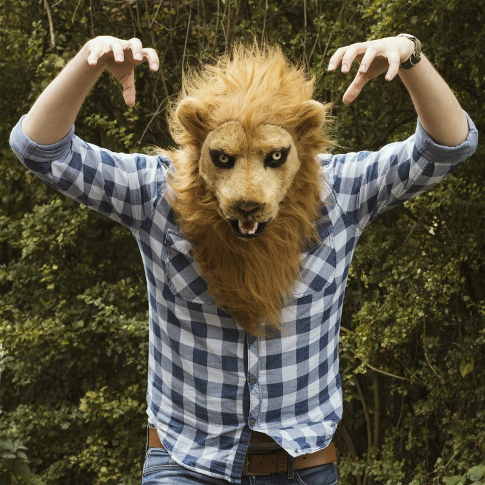 Picture of Mr. Lion Furry Mask