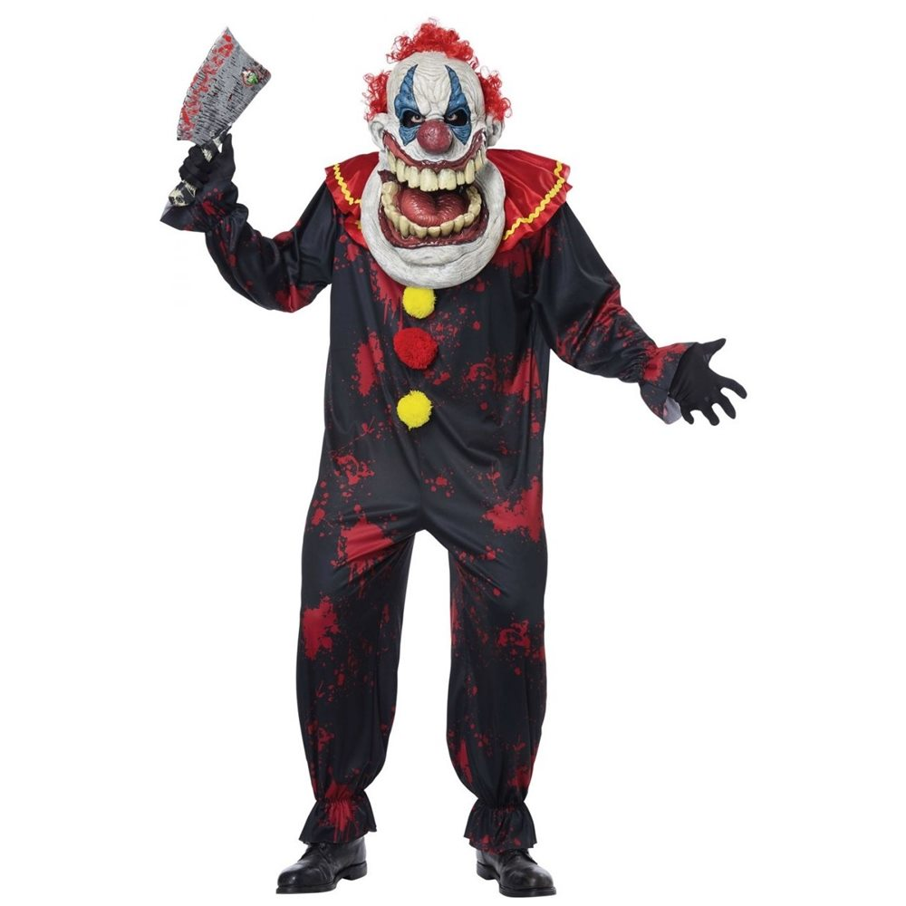 Picture of Die Laughing Clown Adult Mens Costume