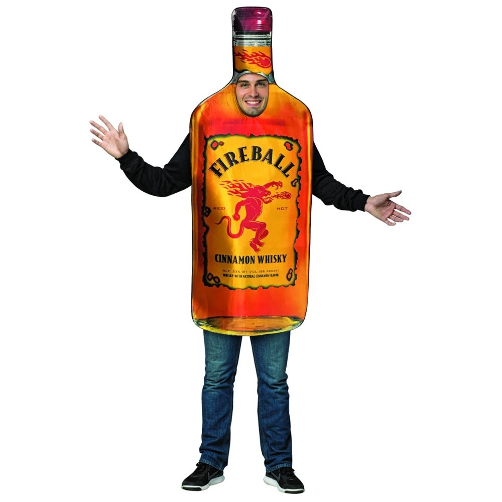 Picture of Fireball Whiskey Bottle Adult Unisex Costume