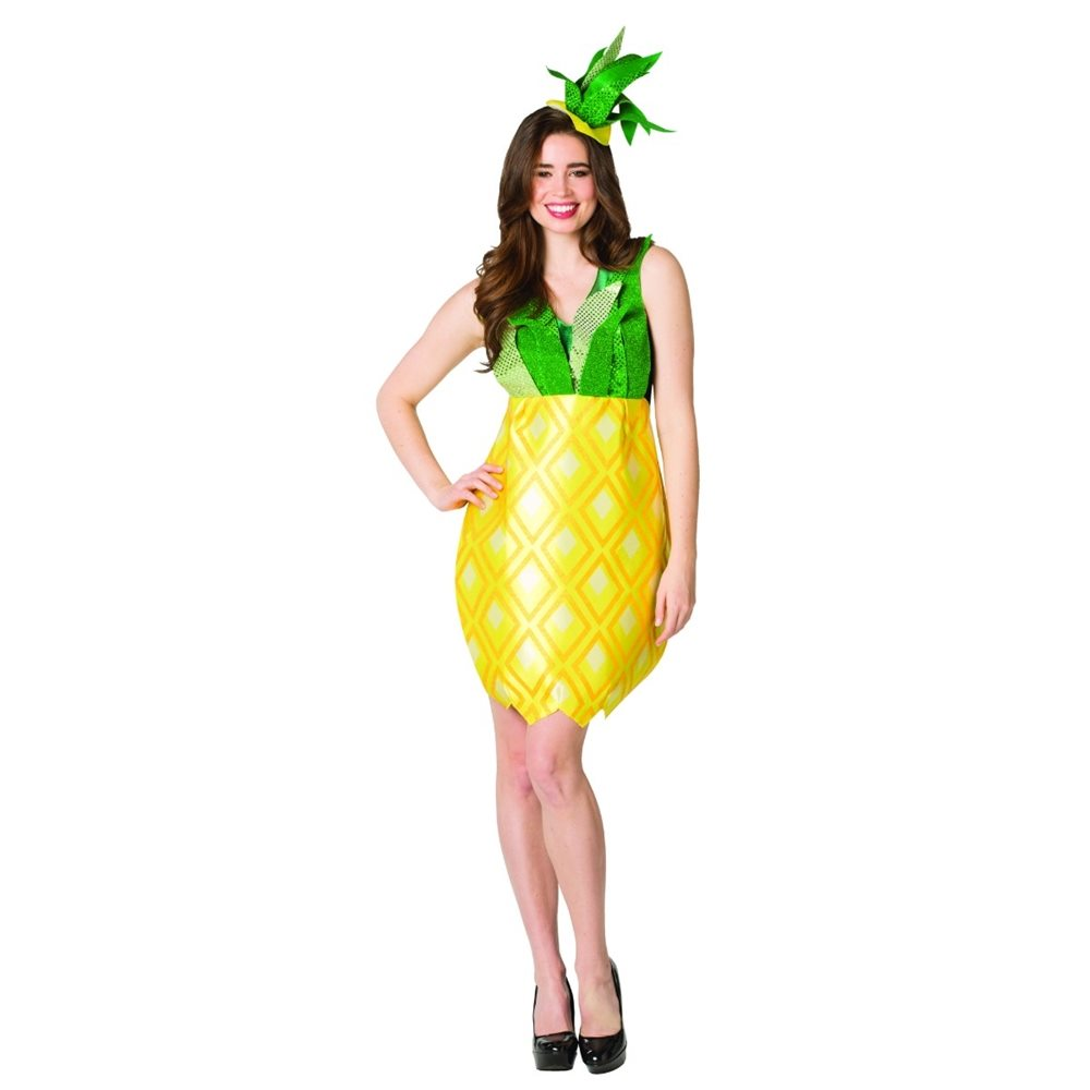 Picture of Pineapple Adult Womens Dress