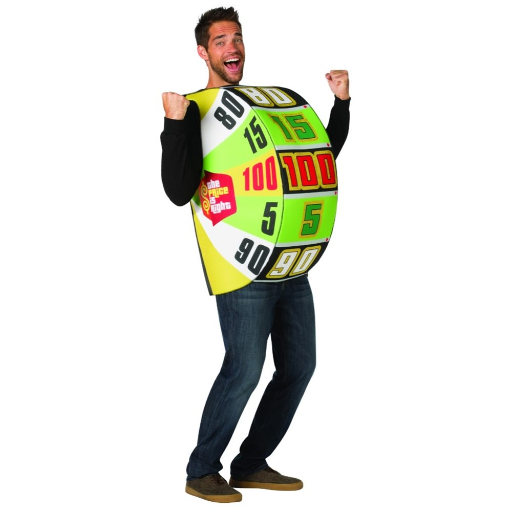 Picture of The Price is Right Big Wheel Adult Unisex Costume