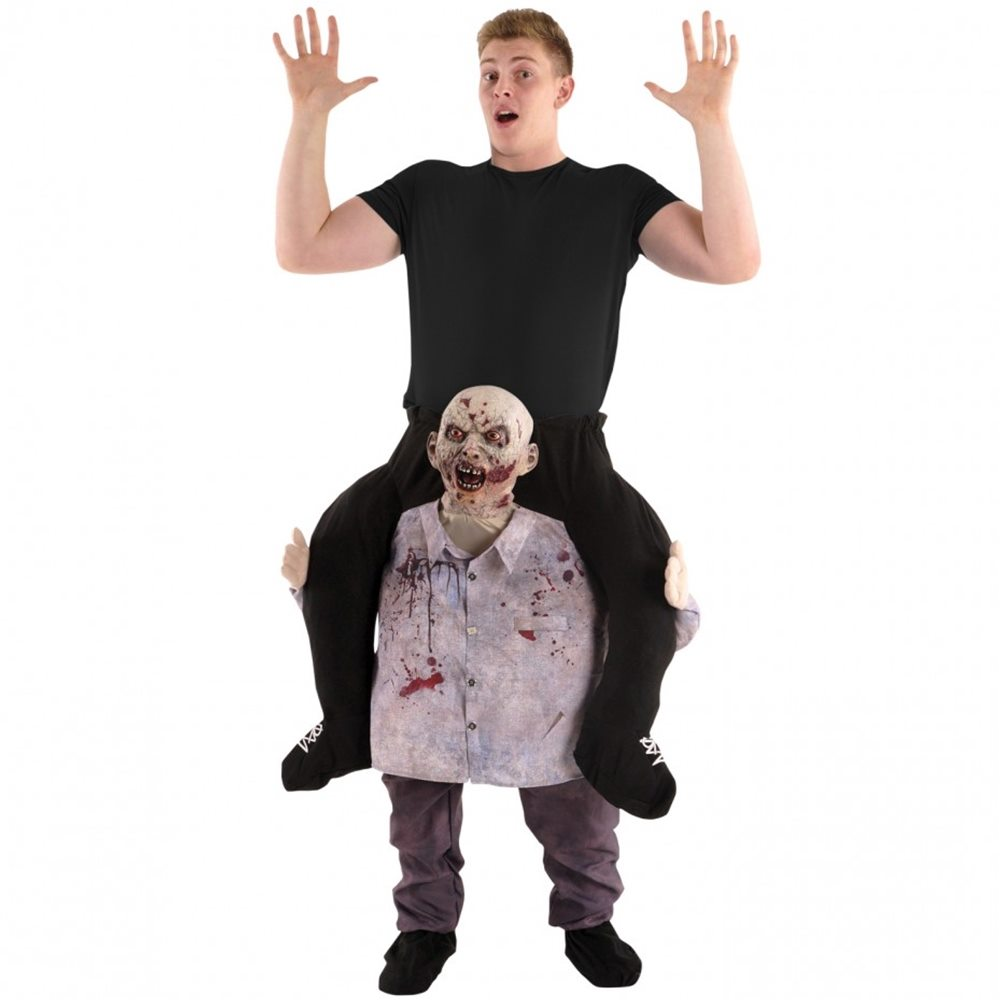 Picture of Zombie Piggyback Adult Unisex Costume