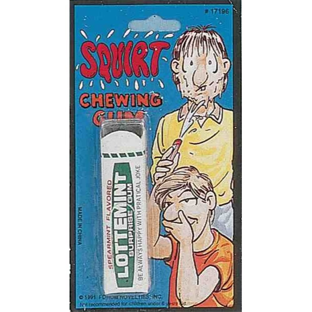 Picture of Squirt Chewing Gum Gag