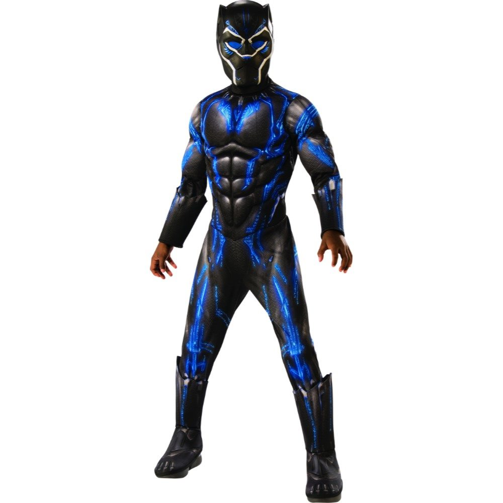 Picture of Black Panther Deluxe Battle Suit Child Costume