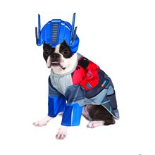 Picture of Transformers Deluxe Optimus Prime Pet Costume