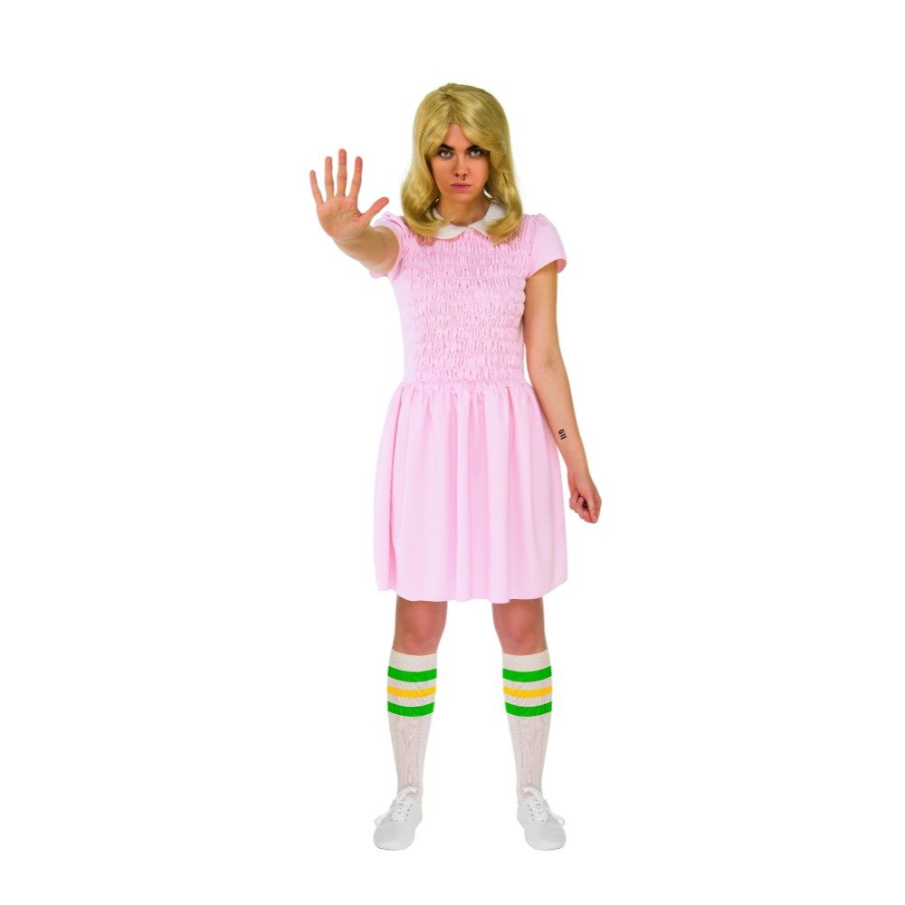 Picture of Stranger Things Eleven Dress Adult Womens Costume